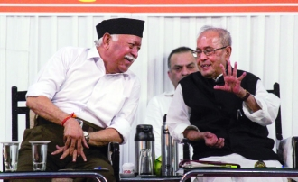 Former President Pranab Mukherjee Shares his Definition of Nationalism at RSS Event