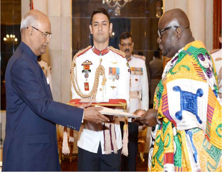 Growing India Ghana relations will consolidate India Africa ties: Dr Micheal Aaron