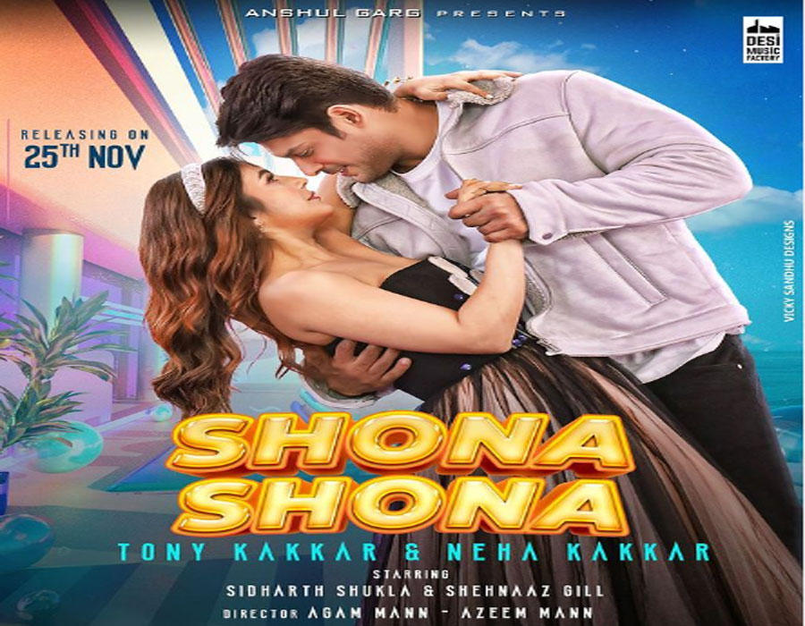 Shona Shona first look poster: Sidharth Shukla and Shehnaaz Gill steal our Hearts