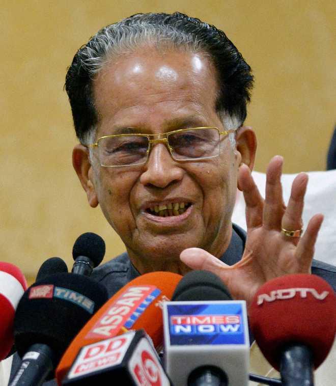 Congress leader Tarun Gagoi dies at 86