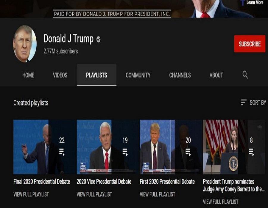 YouTube deletes new Trump video, suspends fresh uploads