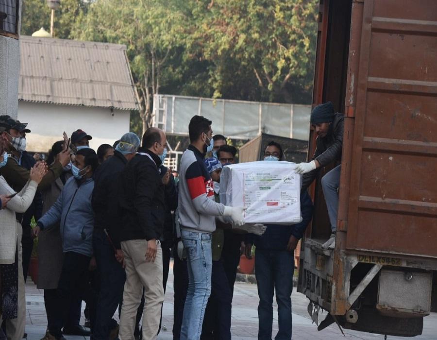 Covaxin arrives in Delhi; 20,000 doses to reach Rajiv Gandhi Hospital