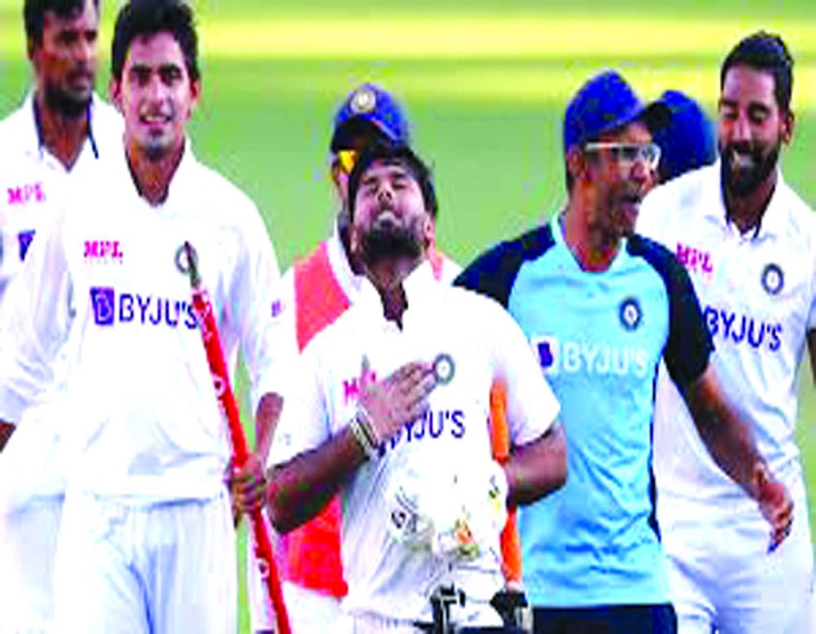 A legendary feat by incredible Indians