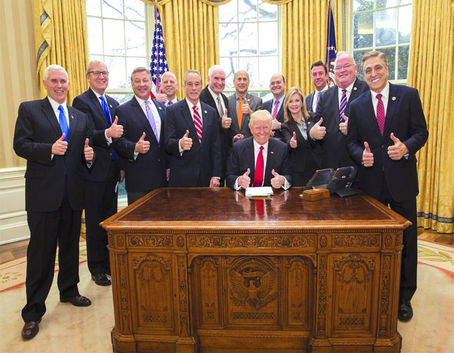 In Trump they trust