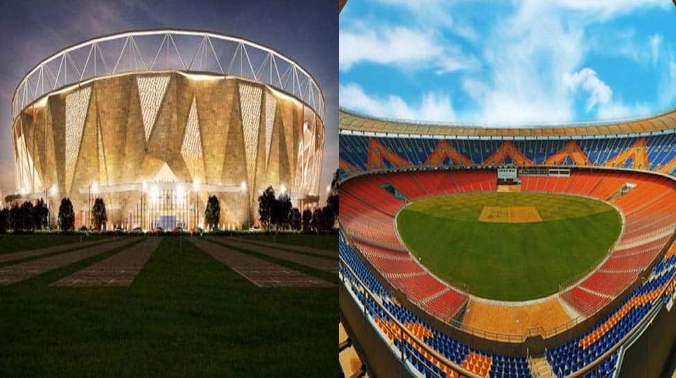 Players are stunned by the new Motera stadium