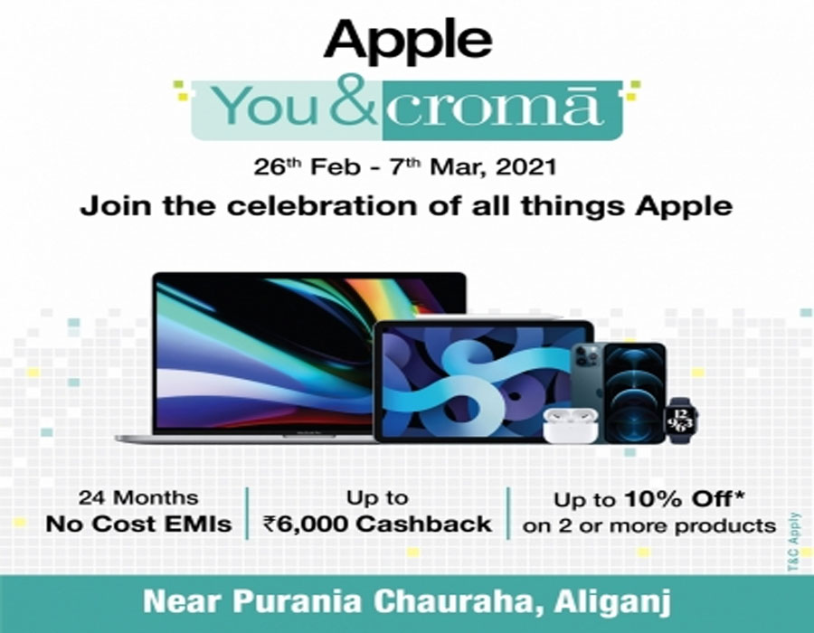 Apple, Croma join hands on Jobs' birth anniversary
