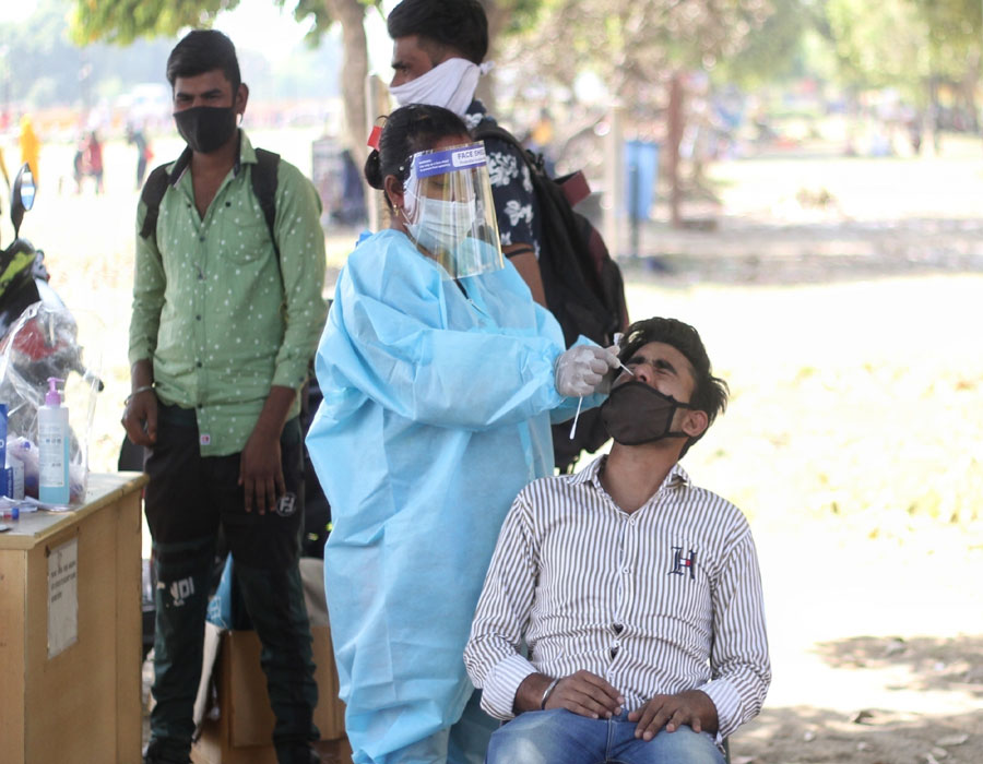 India records 1,15,736 Covid-19 cases, highest ever daily tally