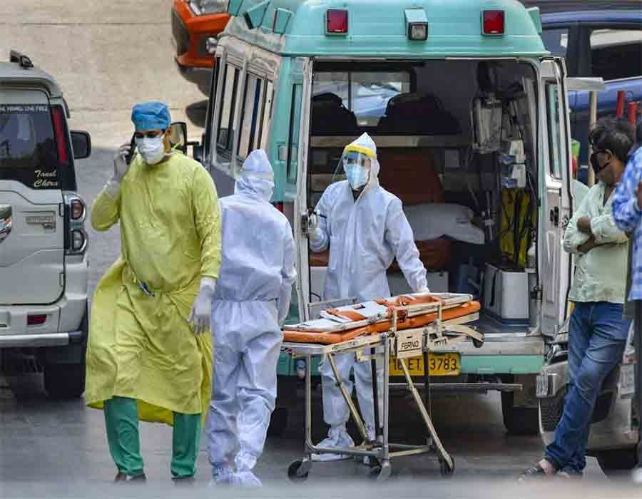 41,134 new Covid cases, 424 deaths in India in 24 hrs