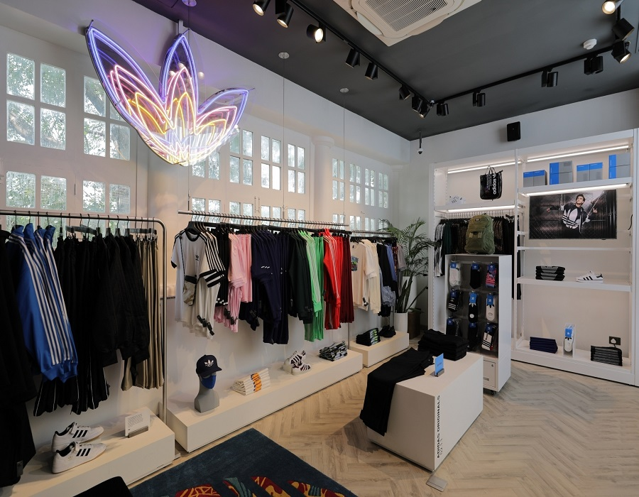 Adidas launches first flagship store in India - The Home of Possibilities