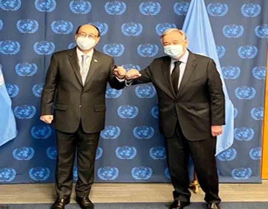 As India prepares to head UNSC, Shringla briefs Guterres, int'l envoys