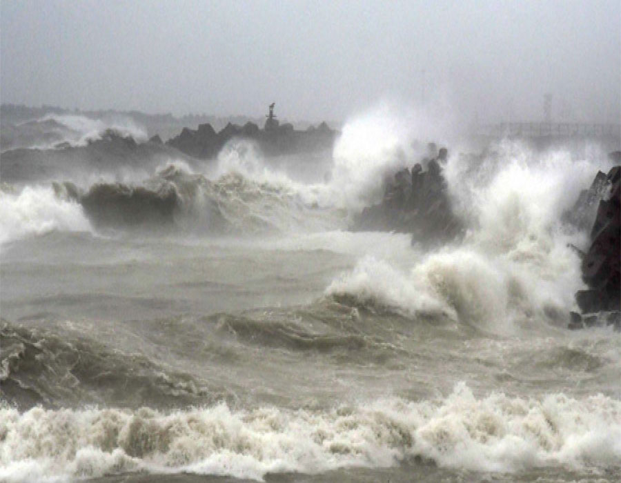 Cyclonic Storm 'Gulab' to cross coast on Sunday midnight