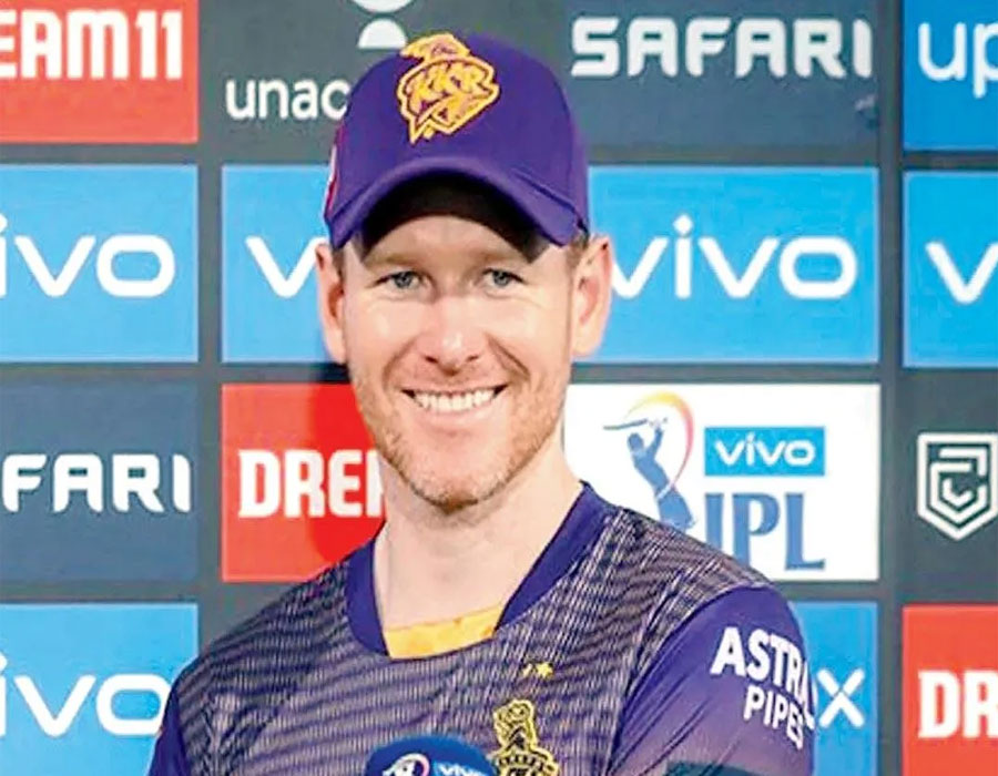 KKR skipper Morgan fined Rs 24 lakh; others fined Rs 6 lakh each