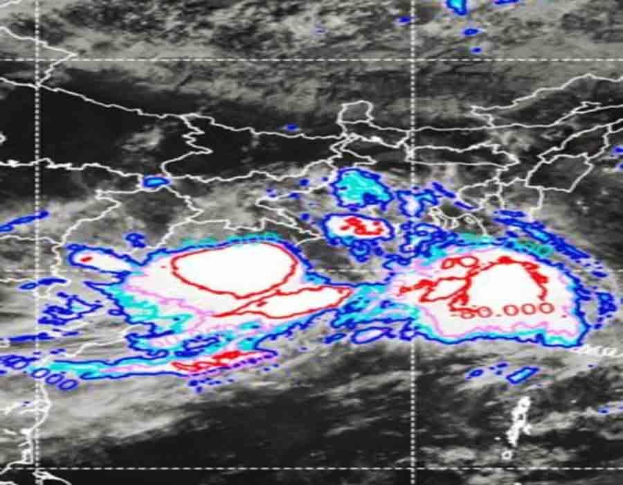 Massive rainfall in Odisha, alert for Chhattisgarh, MP too