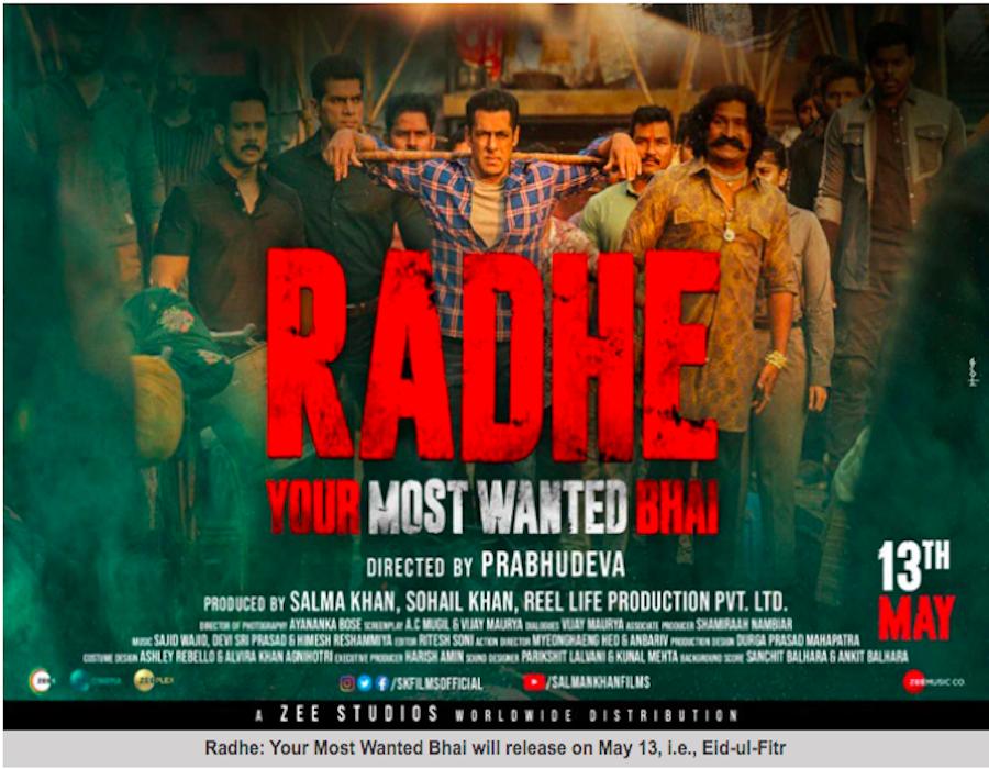 Radhe: Salman Khan's chaos of set pieces