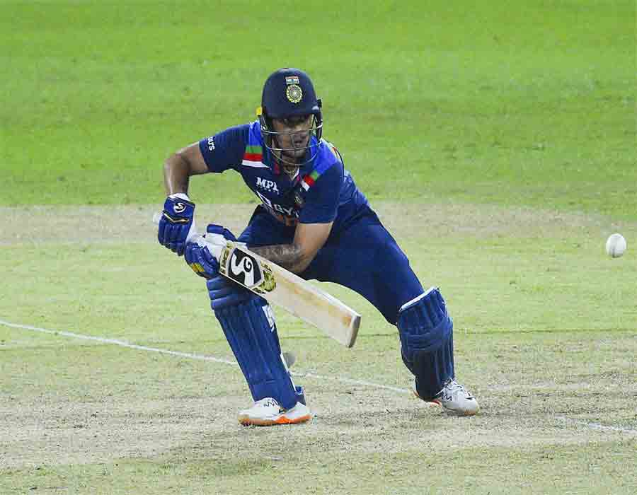 Skipper Dhawan, debutant Kishan shine in India's seven-wicket victory over Sri Lanka