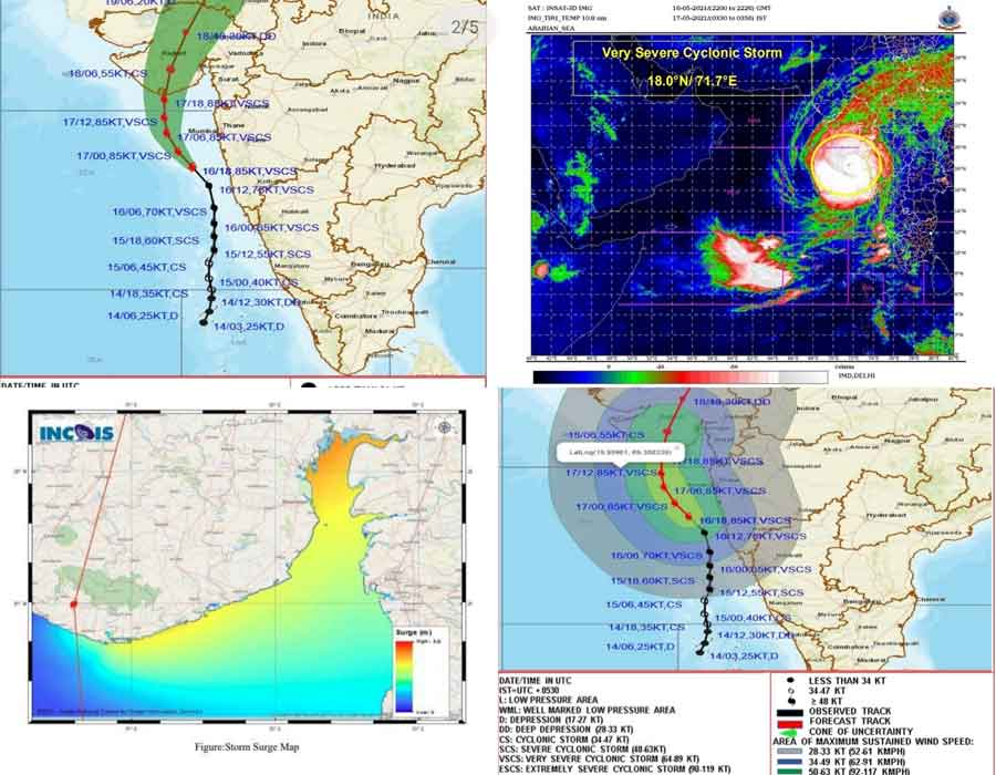 Tauktae to reach Guj coast Monday evening, IMD issues Orange alert